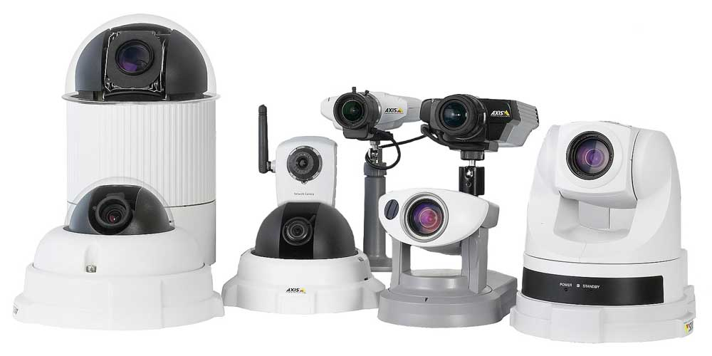 Local Hosted Cameras and DVR Systems